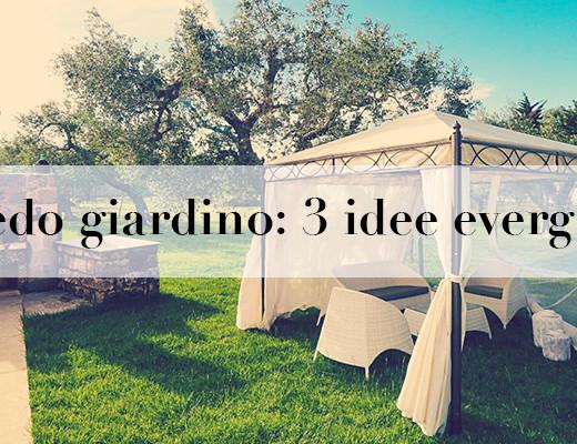 idee arredo giardino