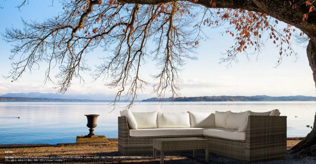 sedute divani arredo giardino