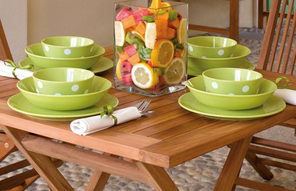 tavolo giardino legno teak