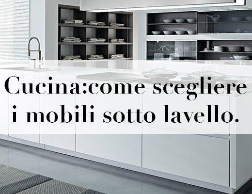 sotto lavello cucina