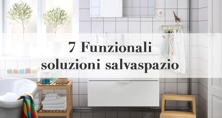 7 funzionali soluzioni salvaspazio magazine deghishop - Soluzioni salvaspazio bagno ...