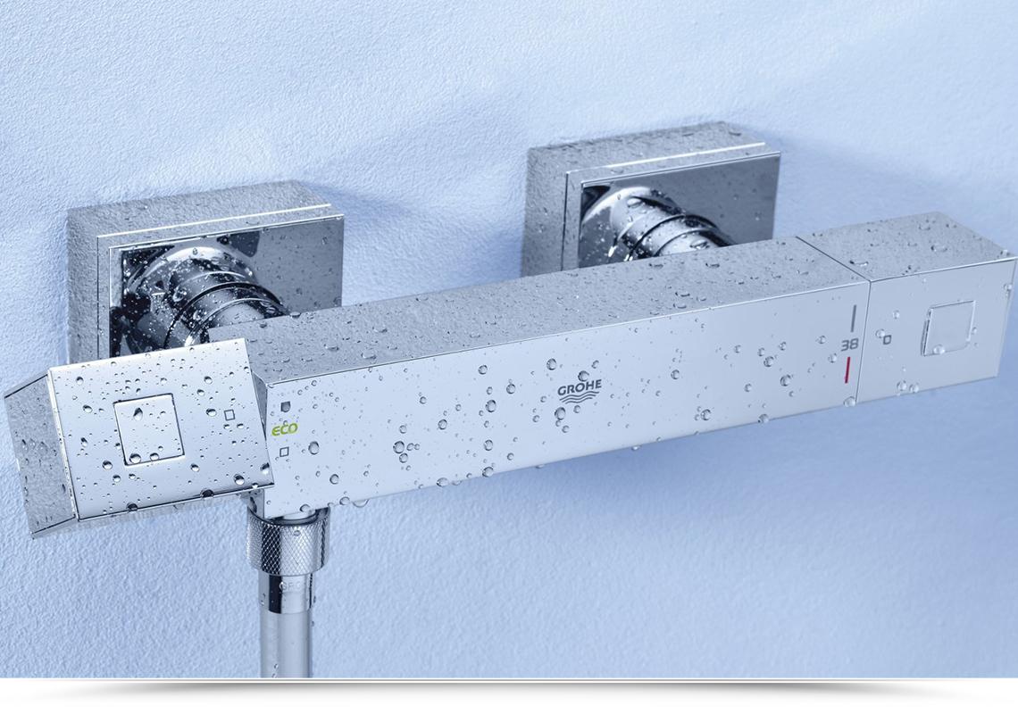 miscelatore termostatico squadrato doccia vendita online deghishop