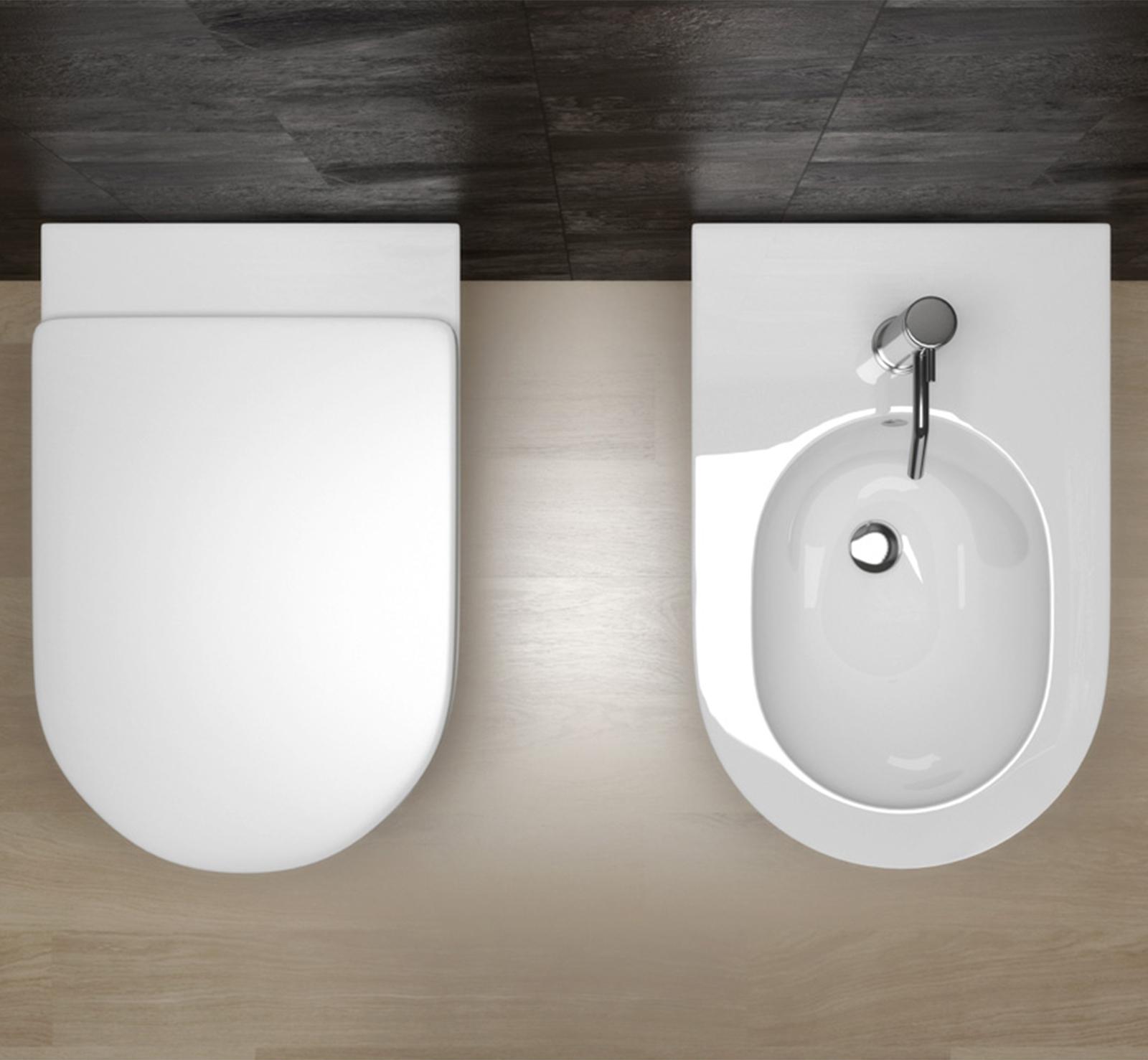 sanitari sospesi design minimal ceramica