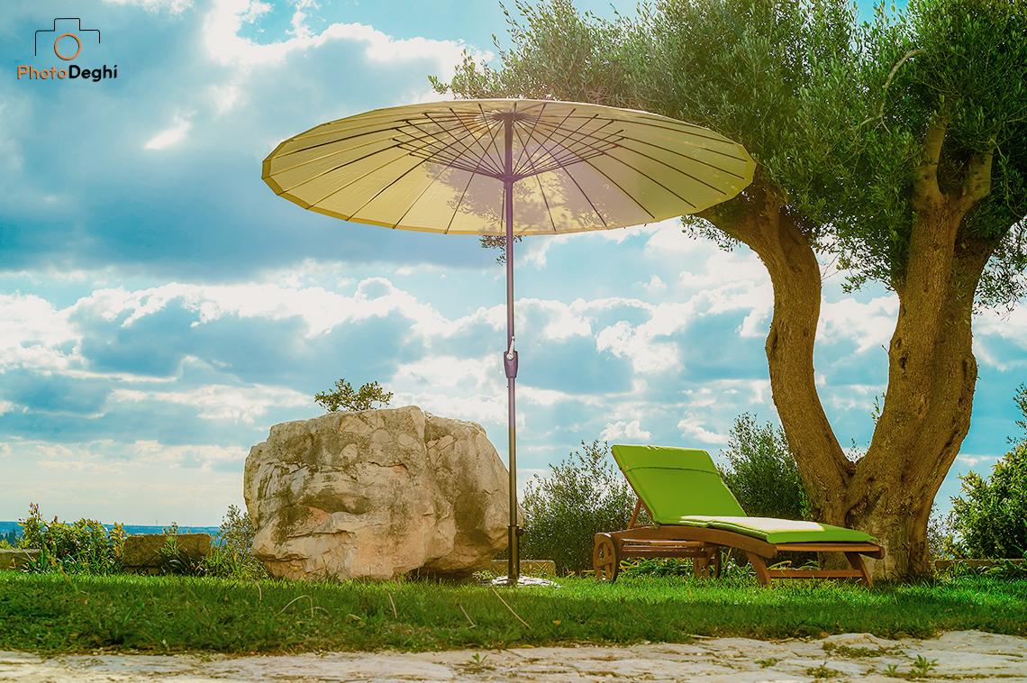 ombrellone 3x3 giardino palo centrale