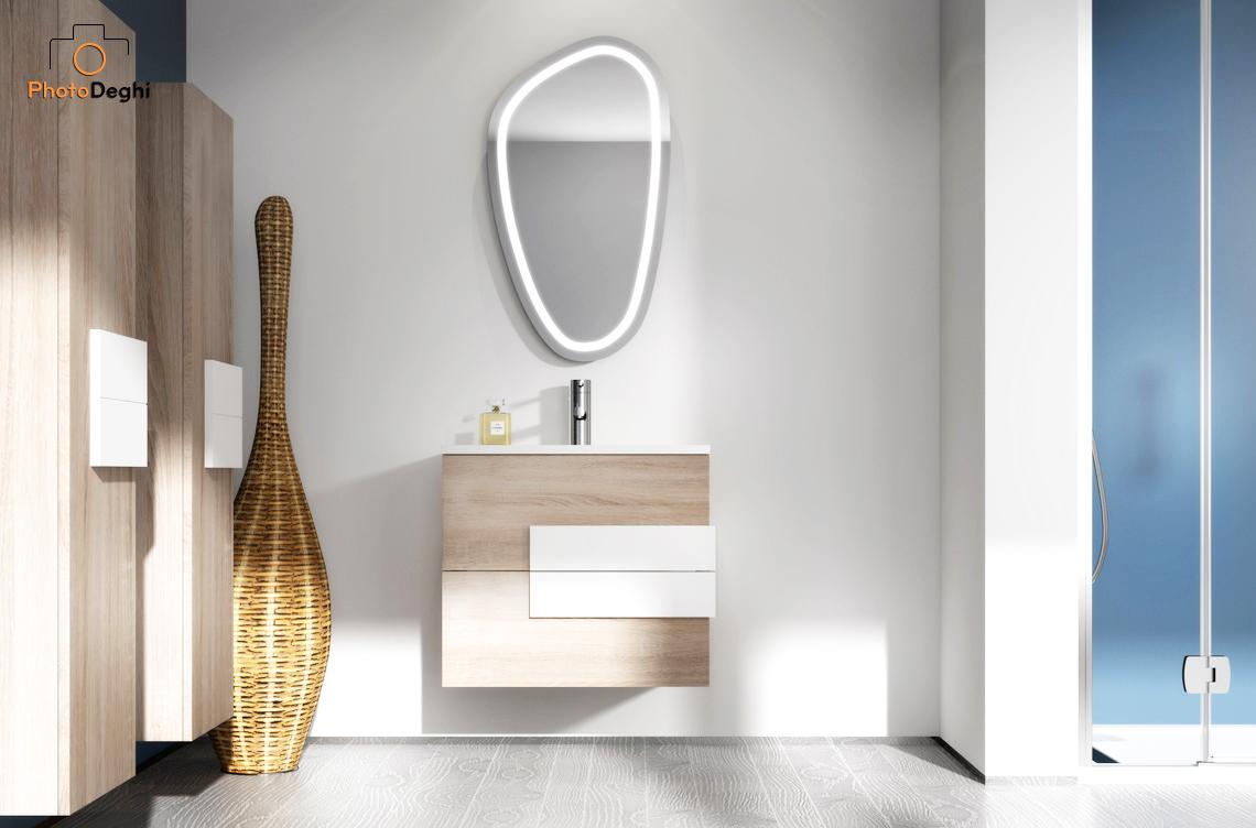 specchio led bagno