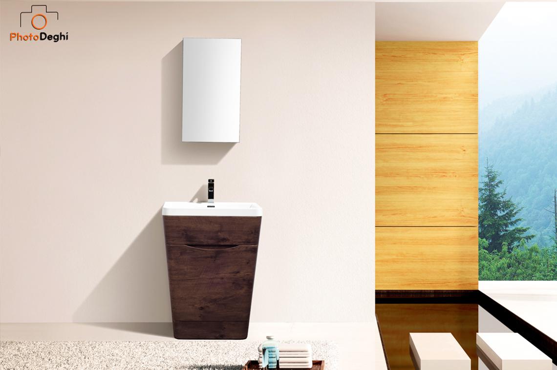 mobile bagno o lavanderia legno