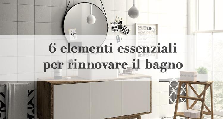 6 idee per rinnovare il bagno spendendo poco - Rinnovare il bagno ...