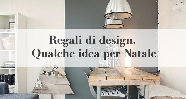 Regali di design qualche idea per natale magazine deghishop for Regali di design