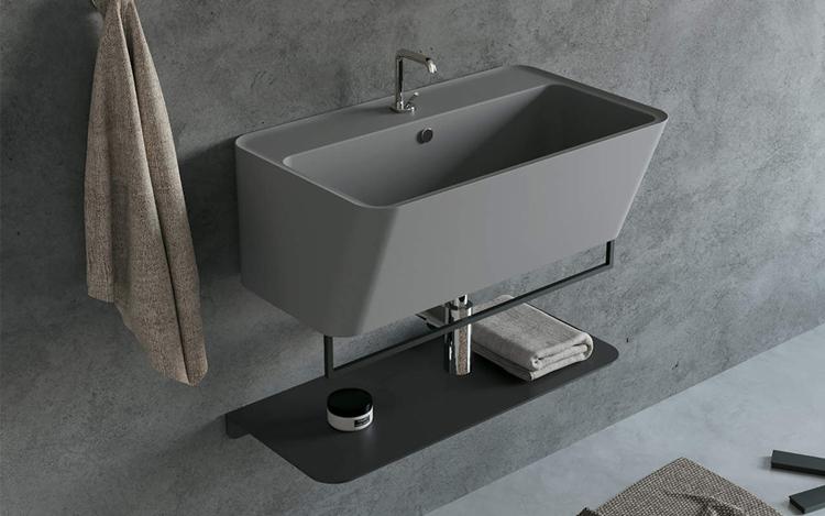 angolo lavanderia in bagno