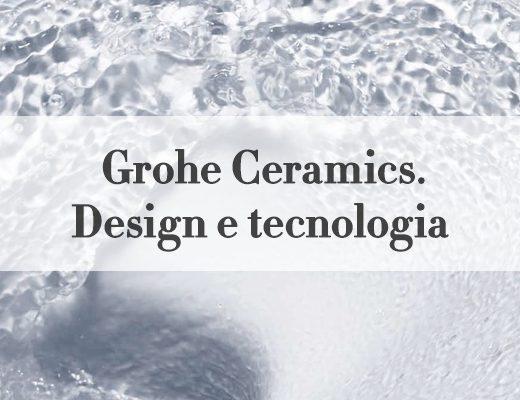 grohe ceramics design tecnologia