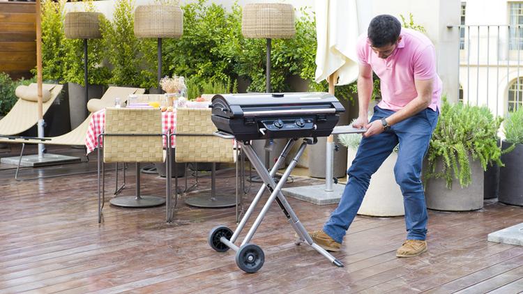 barbecue in terrazzo