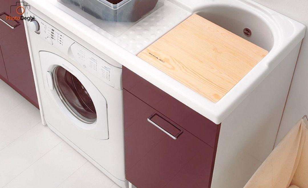 come nascondere lavatrice