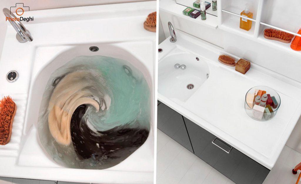 coprilavatrice lavatoio