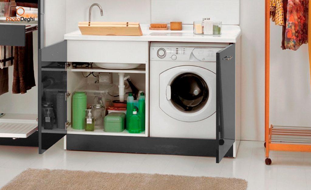 nascondere lavatrice