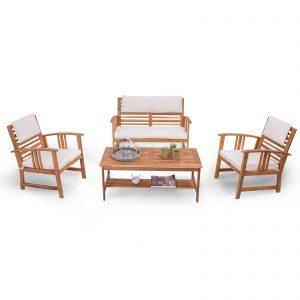 set relax legno giardino