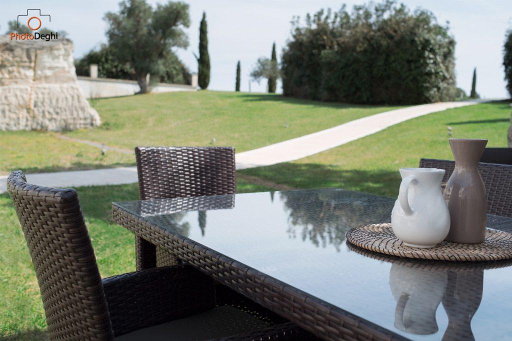 tavolo rattan giardino